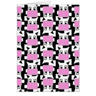 Moo Cow Moo Card
