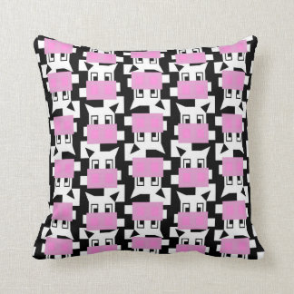 Moo Cow Moo Throw Pillow