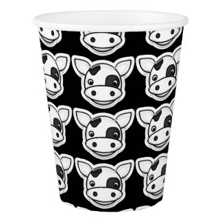 Moo Cow Paper Cup