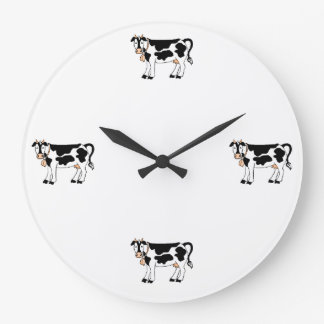 Moo Cows Large Clock