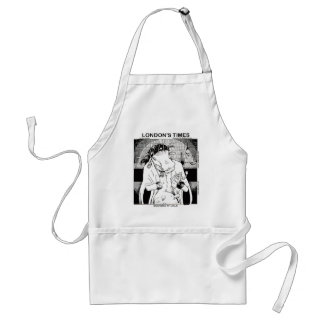 Moo Doo Rituals New Orleans Cow Funny Gifts Standard Apron
