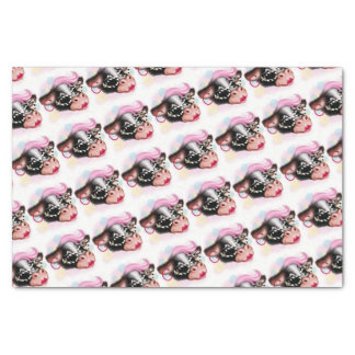"MOO FACE CARTOON  10"" x 15""- 18lb Tissue Paper"