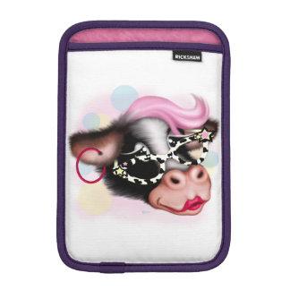 MOO FACE COW CARTOON iPad Mini iPad Mini Sleeves