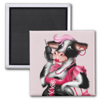 MOO FASHION MAGNET Square Magnet