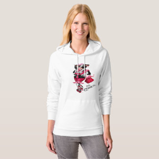 MOO FASHION Women's Champion Women's Bella+CanvasW Hoodie