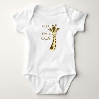 moo im a goat baby bodysuit