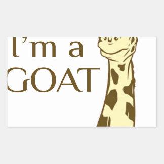 moo im a goat sticker