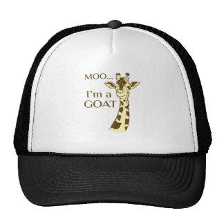 moo im a goat trucker hat