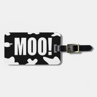 Moo! Luggage Tag
