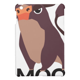 Moo, mean cow design case for the iPad mini