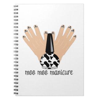 Moo Moo Manicure Note Books