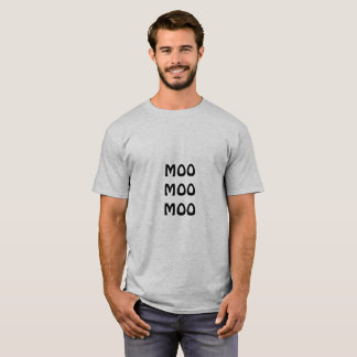MOO MOO MOO Quote Men's T-Shirt