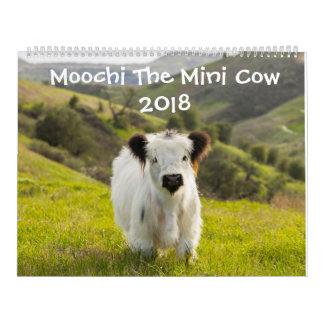 Moochi The Mini Cow 2018 Calendar