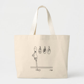 Mood Cartoon 1175 Large Tote Bag