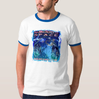 Mood of Space Audiorama Pillow cover blue T-Shirt