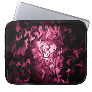 Moods of a Valentine.. Laptop Sleeve