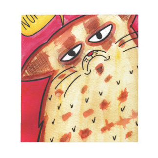 Moody Cat Notepads