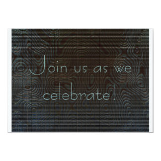 Moody Dark Abstract Anniversary Card