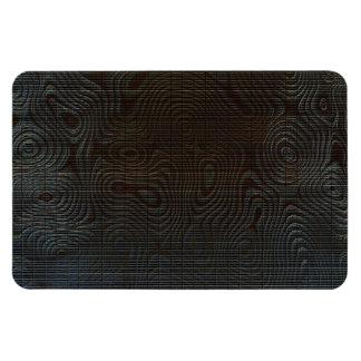 Moody Dark Abstract Pattern Rectangular Photo Magnet
