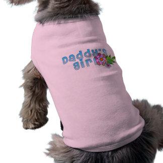 "Moody Dog Tank - ""Daddy's Girl"" Doggie Tee Shirt"