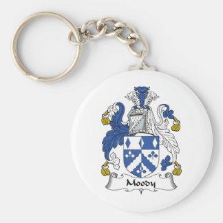 Moody Family Crest Keychain