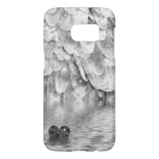Moody Heart and Angel Wing Samsung Galaxy S7 Case