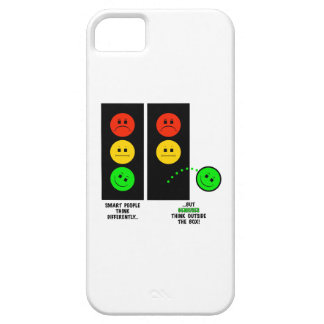 Moody Stoplight Geniuses Think Outside The Box iPhone 5 Covers