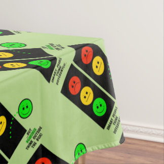 Moody Stoplight Geniuses Think Outside The Box Tablecloth