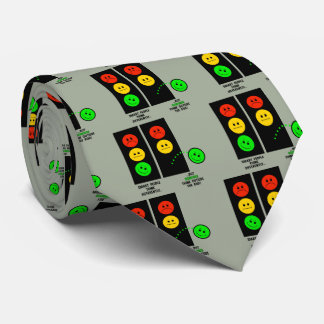Moody Stoplight Geniuses Think Outside The Box Tie