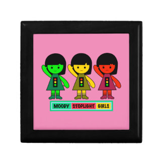 Moody Stoplight Girls w/ Label Gift Box