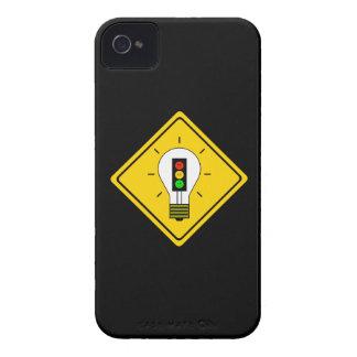 Moody Stoplight Lightbulb Ahead Case-Mate iPhone 4 Cases