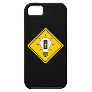 Moody Stoplight Lightbulb Ahead iPhone 5 Covers