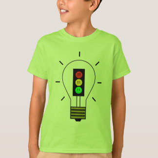 Moody Stoplight Lightbulb T-Shirt