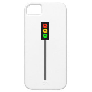 Moody Stoplight on Pole iPhone 5 Cover