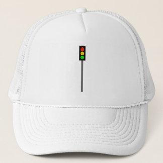 Moody Stoplight on Pole Trucker Hat