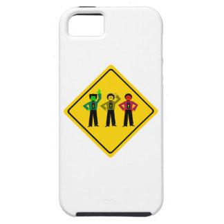 Moody Stoplight Trio Ahead iPhone 5 Cases