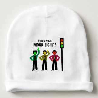 Moody Stoplight Trio How's Your Mood Light Baby Beanie