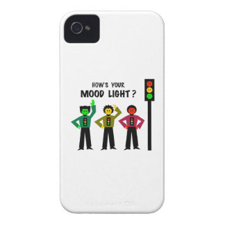 Moody Stoplight Trio How's Your Mood Light iPhone 4 Covers