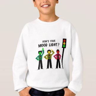 Moody Stoplight Trio How's Your Mood Light Sweatshirt