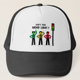 Moody Stoplight Trio How's Your Mood Light Trucker Hat