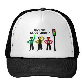 Moody Stoplight Trio How's Your Mood Light Trucker Hat