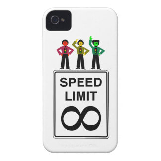Moody Stoplight Trio Infinite Speed Limit iPhone 4 Case-Mate Case