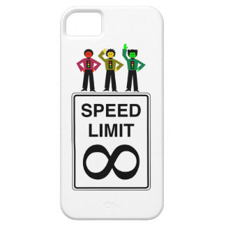 Moody Stoplight Trio Infinite Speed Limit iPhone 5 Covers