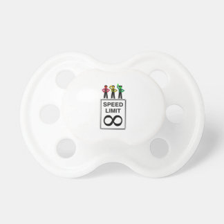 Moody Stoplight Trio Infinite Speed Limit Pacifier