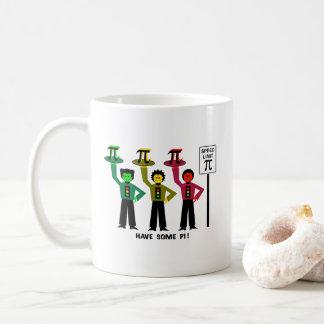 Moody Stoplight Trio Next To Speed Lim Pi Sign w/C Coffee Mug