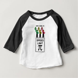 Moody Stoplight Trio On Speed Lim Pi Sign wCaption Baby T-Shirt