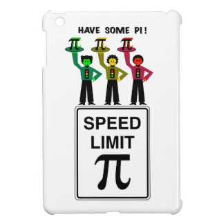 Moody Stoplight Trio On Speed Lim Pi Sign wCaption Case For The iPad Mini