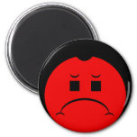 Moody Stoplight Trio Ron Buckstopper Face Magnets