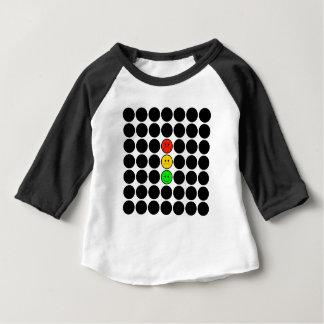 Moody Stoplight w Black Dots Baby T-Shirt