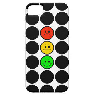 Moody Stoplight w Black Dots iPhone 5 Covers